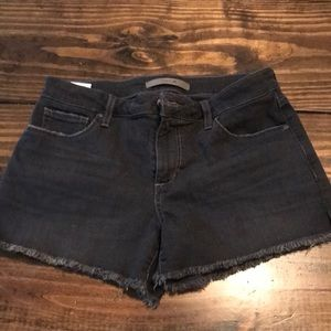 Black denim Joe's Shorts